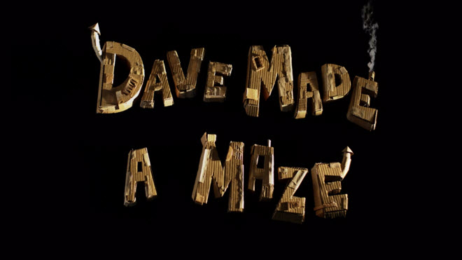 dave made a maze title card resized