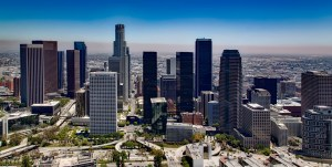 Los Angeles panorama - something you'll see while living in California