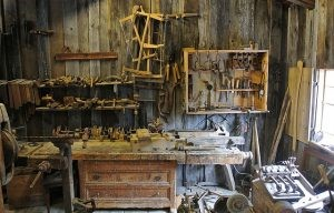 You will need to clear out your tool shed
