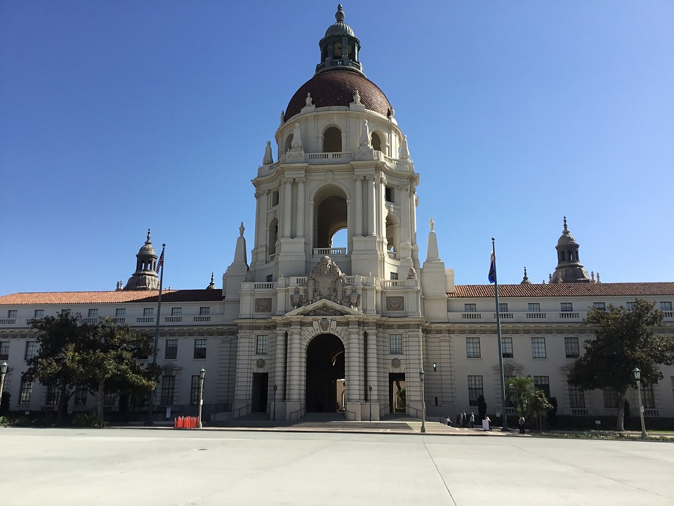 The City Hall in Pasadena.
