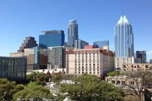 Austin city view.