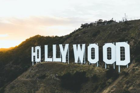 The Hollywood sign that you will be able to see in person after moving from Kuwait to California.