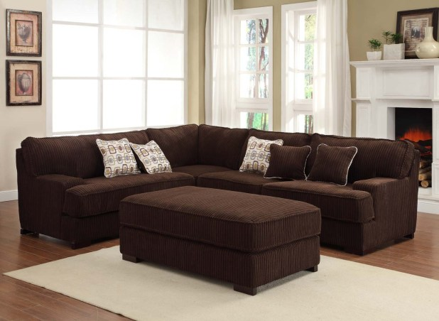 Stacey Leather 6 Piece Modular Sectional Sofa Www
