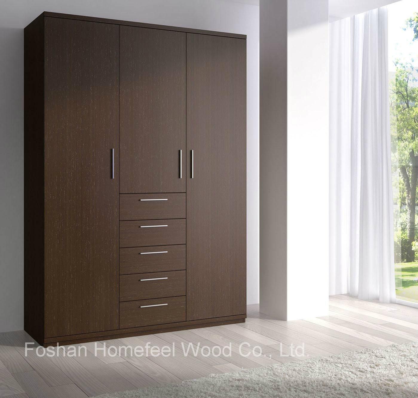15 Best Ideas Of Solid Dark Wood Wardrobes