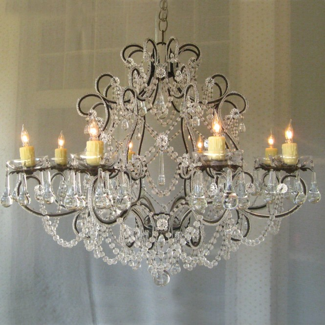 Country Chic Chandelier Lightupmyparty In 7 Of 12