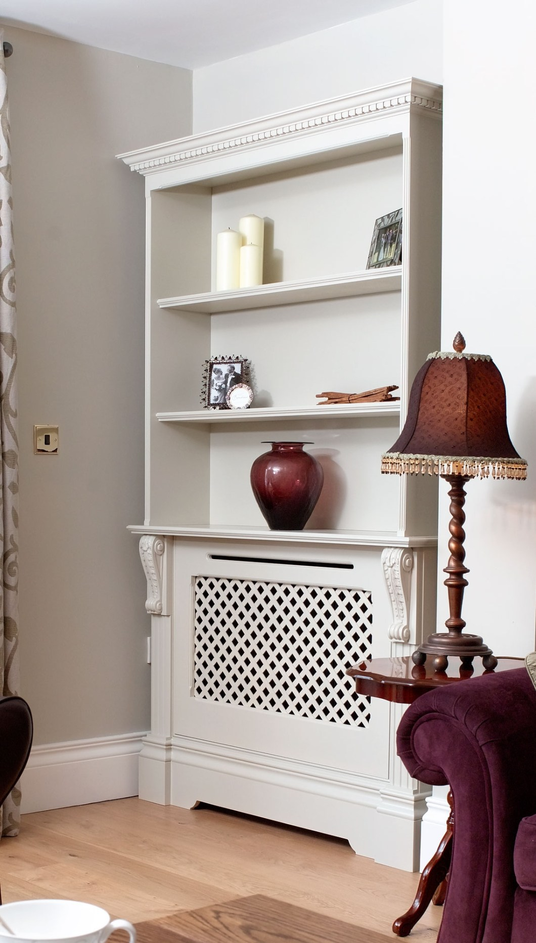 15 Inspirations Of Radiator Cover With Bookcase