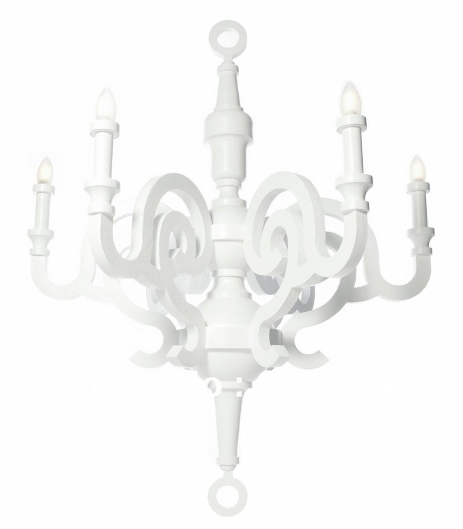 Modern White Chandelier Within 12 Of