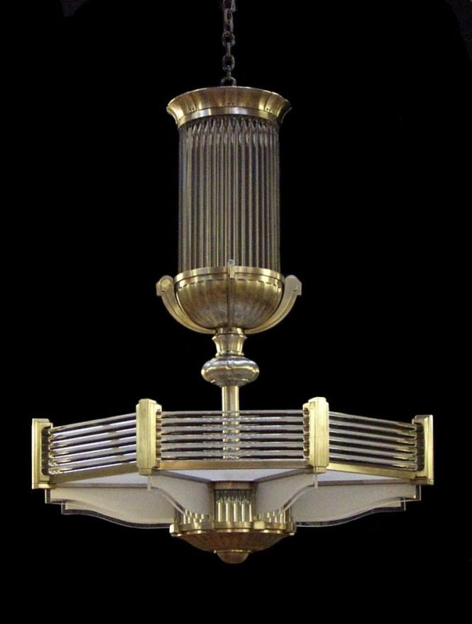 Ralph Lauren Art Deco Style Chandelier Illumination Pinterest Intended For Large
