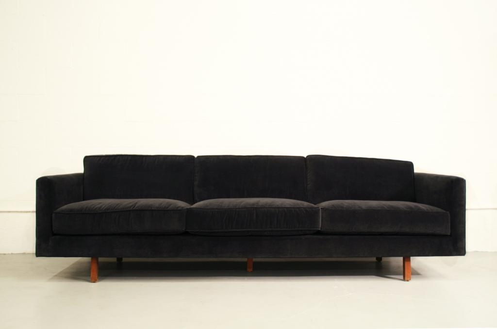 Luxe red velvet sectional sofa · 10. 15 Best Collection of Black Velvet Sofas