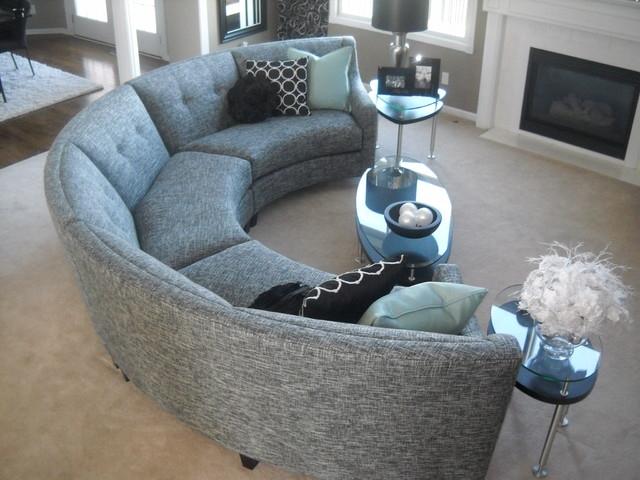 oval sofas. Black Bedroom Furniture Sets. Home Design Ideas