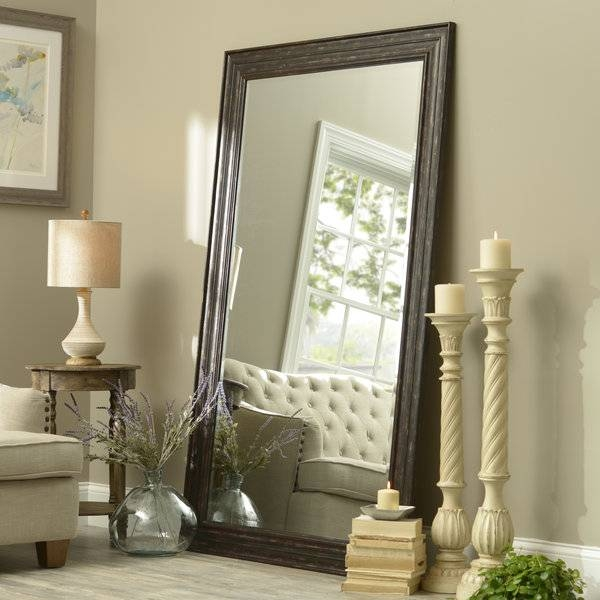 15 Best of Large Leaning Wall Mirrors on Floor Mirrors Decorative Kirklands id=75190