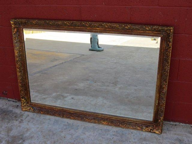 15 Best Ideas Of Large Vintage Wall Mirrors
