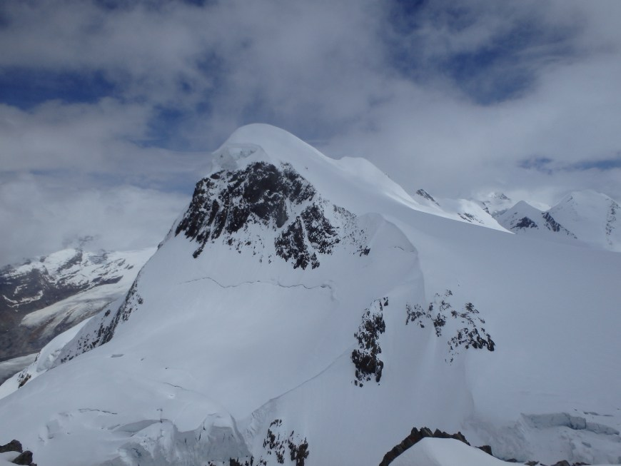 Breithorn from the viewing platform.