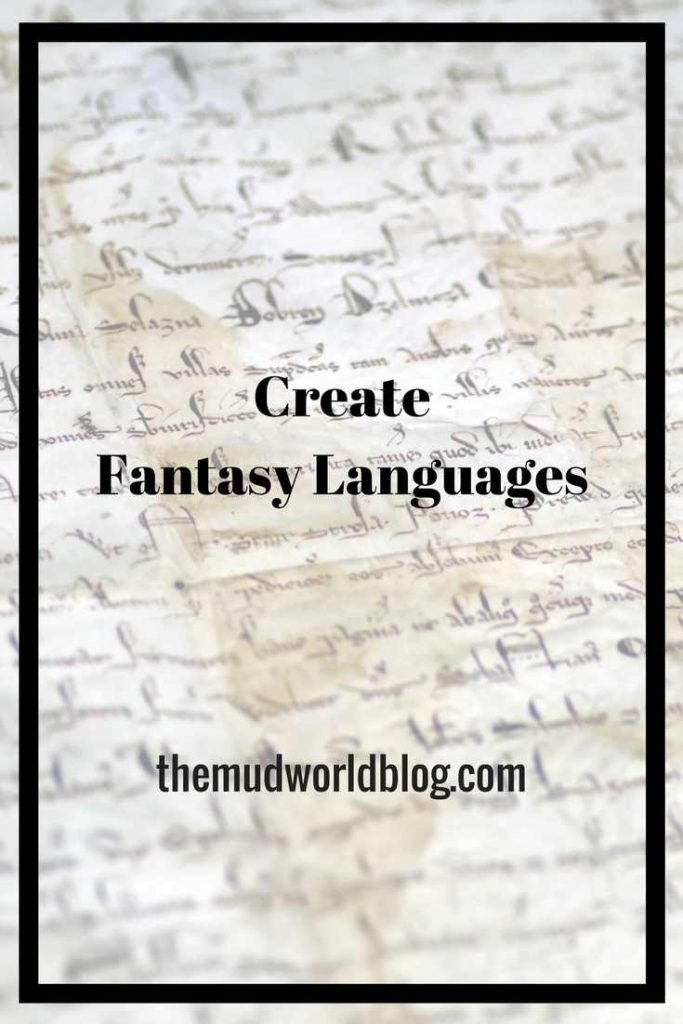 Create Fantasy Names and Languages