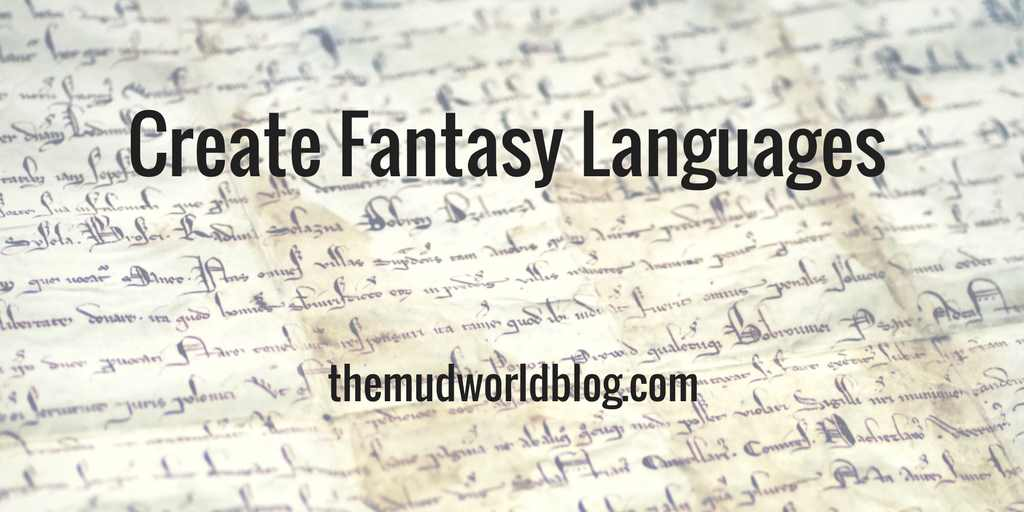 Create Fantasy Languages