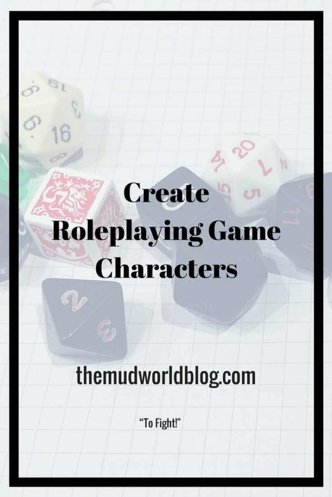 Create Roleplaying Game Characters