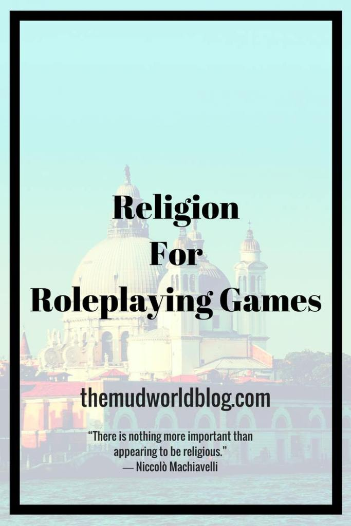How to Include Religions in Roleplaying Games