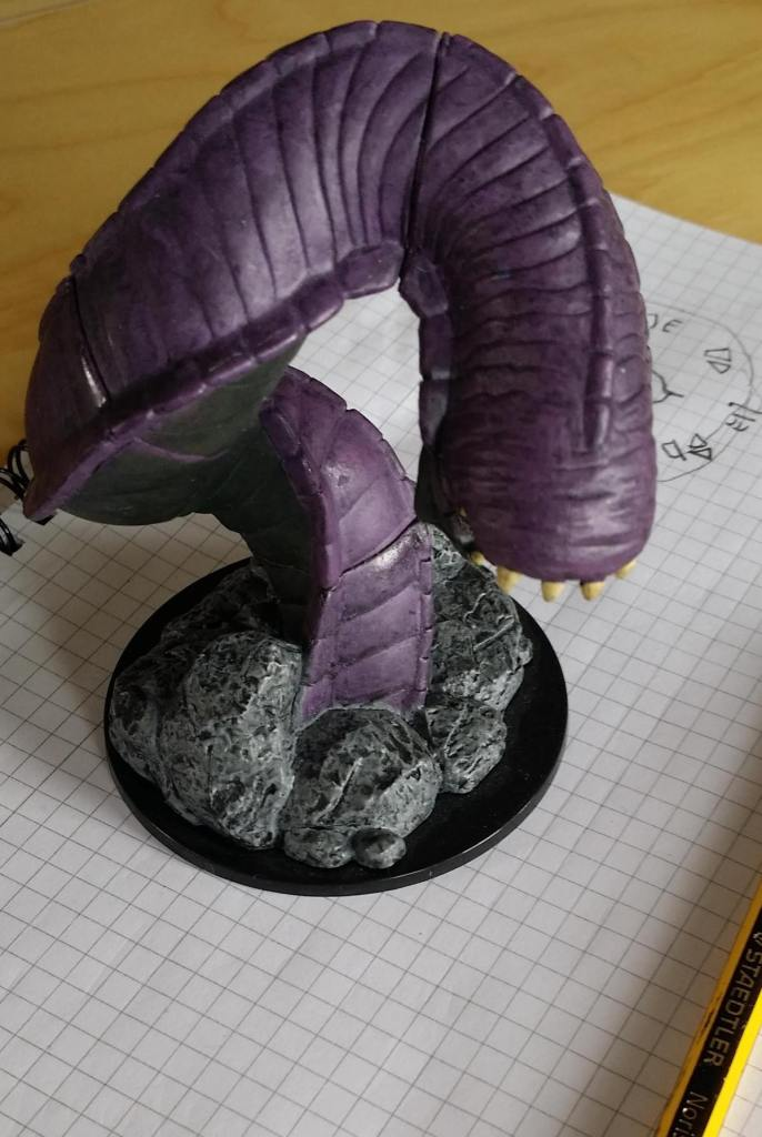 Purple Worm mini.