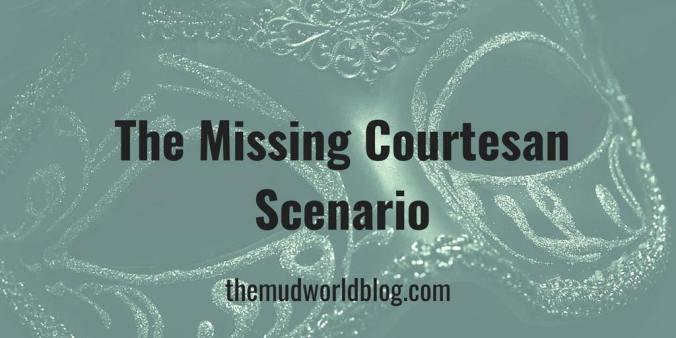 The Missing Courtesan is a fantasy scenario of deception, betrayal, and action in five short scenes for a roleplaying game adventure or a story.