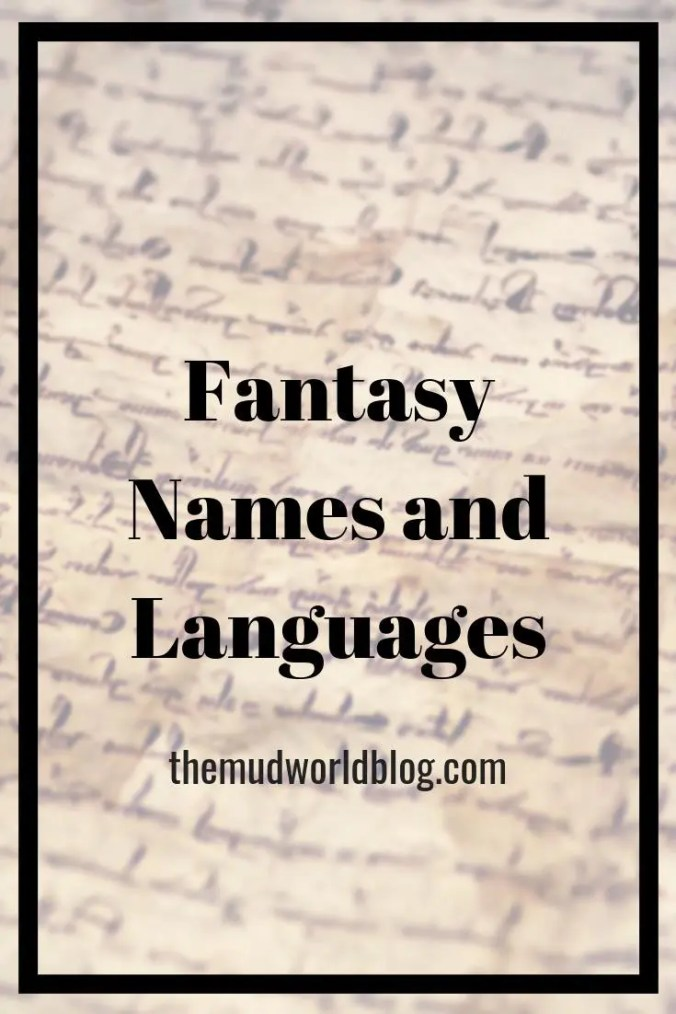 How to create create fantasy names and languages