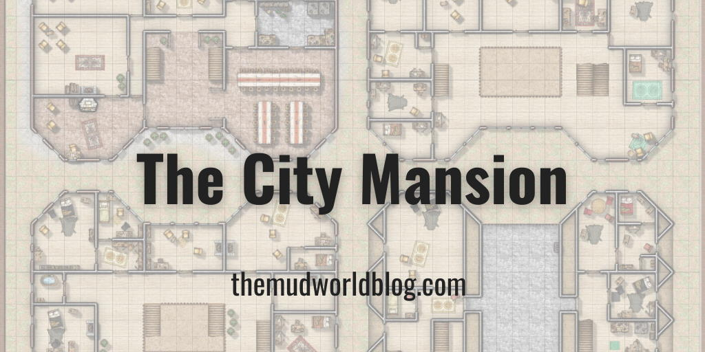 The City Mansion VTT Dungeon Map With Campaign Cartographer