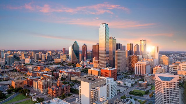 Dallas is one of the top 10 markets for net apartment absorption