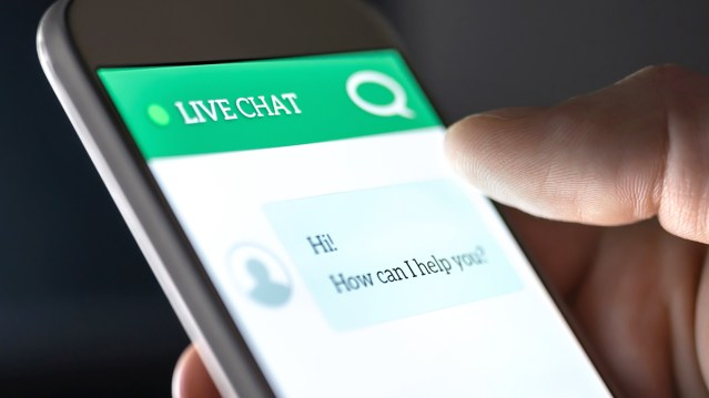 Chatbot in use by multifamily resident