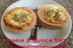Cheese & Quince Tarts
