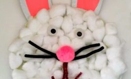 Easter Craft: Paper Plate Easter Bunny
