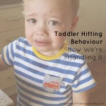 Toddler Hitting Behaviour: How We're Handling It
