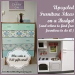 Upcycled Furniture Ideas on a Budget + Giveaway