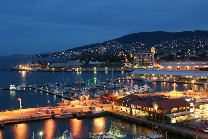 Tassie - Consitution Dock Hobart