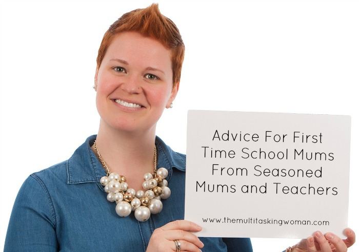 advice for first time school mums