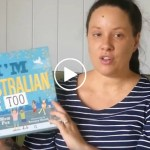 Eva Reads I'm Australian Too by Mem Fox