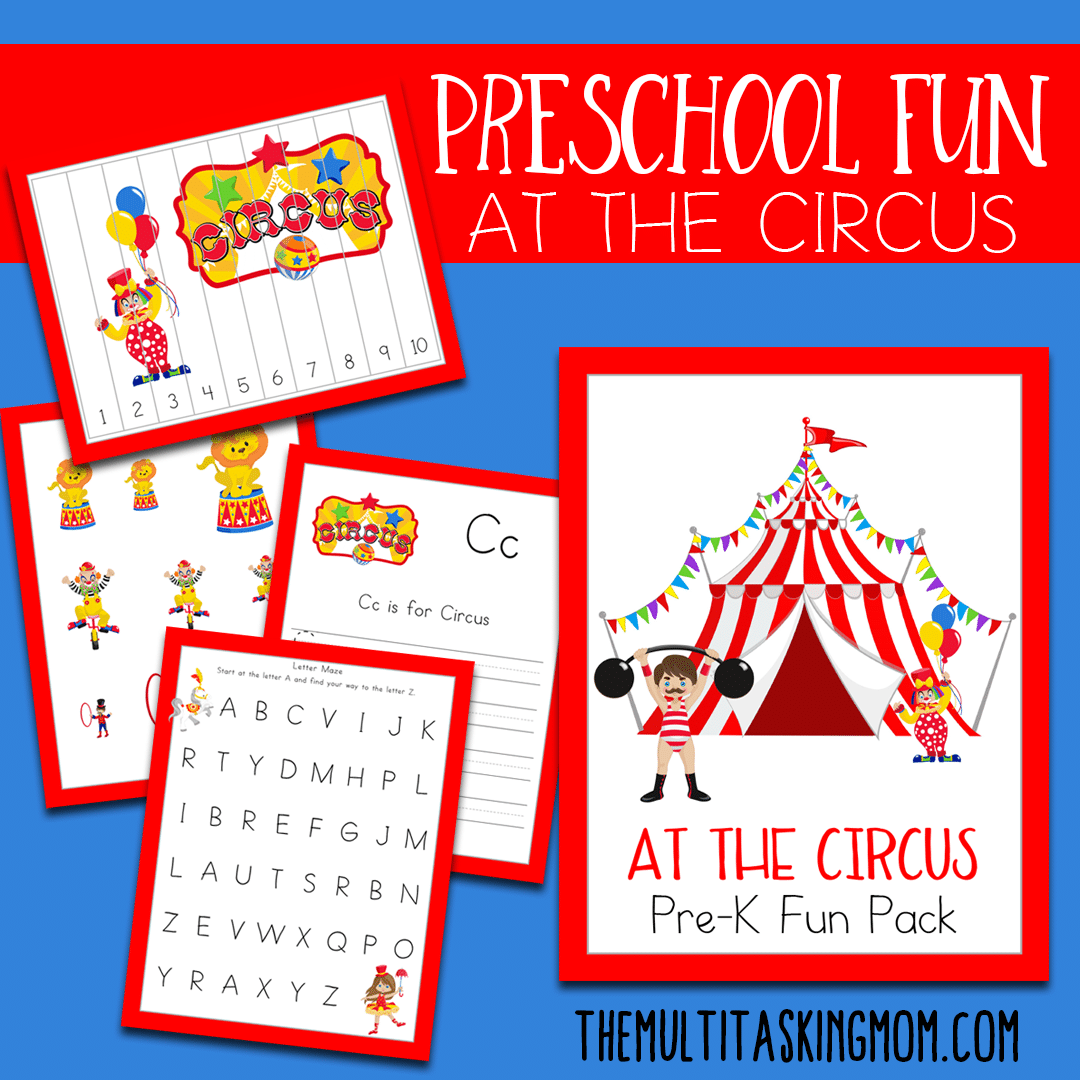 At The Circus Prek Fun Pack