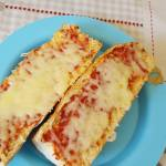 pizza bruschetta's on a plate