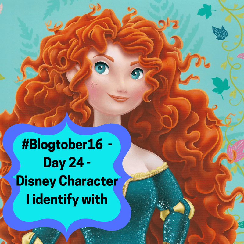 #Blogtober 16 – Day 24 – What disney character I can relate too.