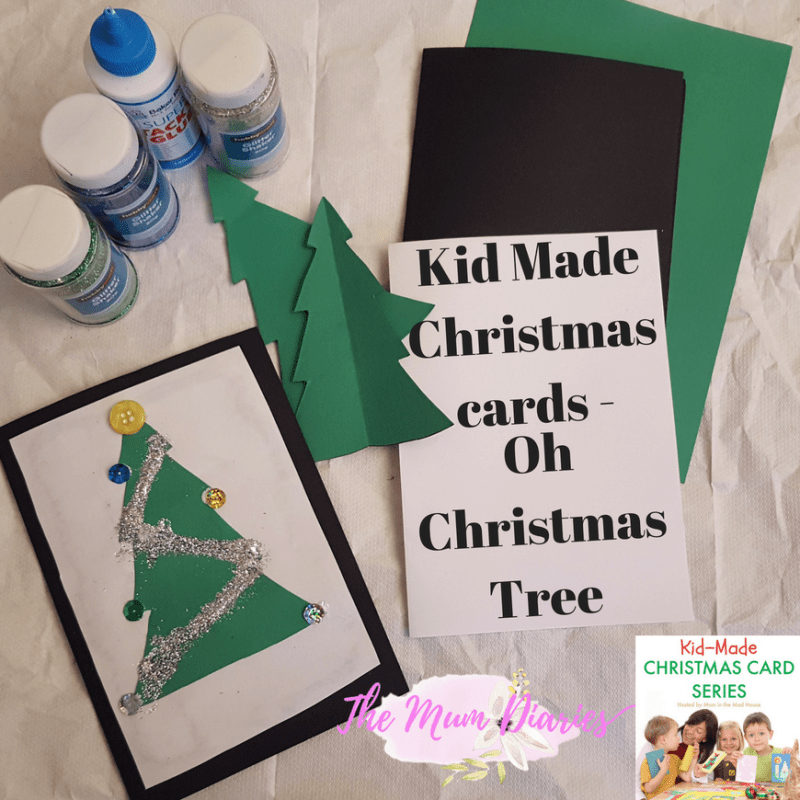 Kids Made Cards – Oh Christmas Tree!