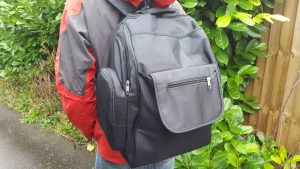 Three little imps Premium backpack changebag