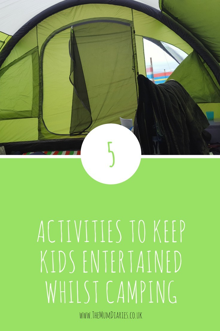 5 activities for children whilst camping
