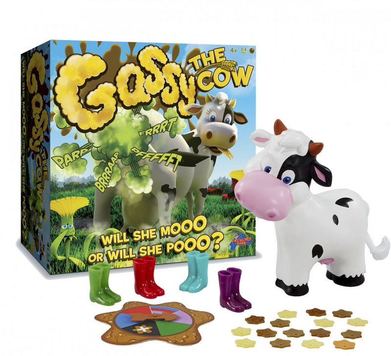 Gassy The Cow