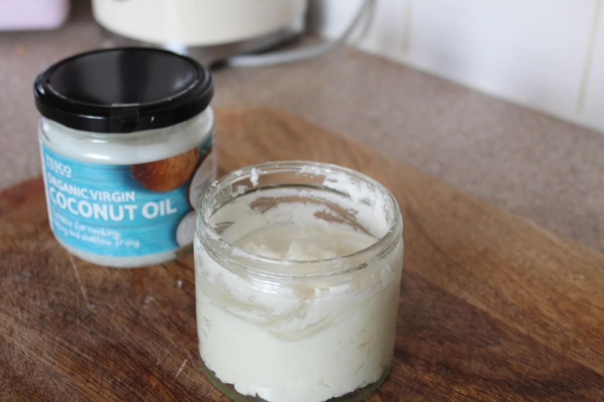 a Jar of homemade deodorant