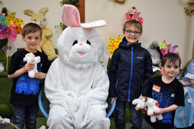 "Tea with the Easter Bunny – ""Best day ever!"" – Wyevale Garden Centre"