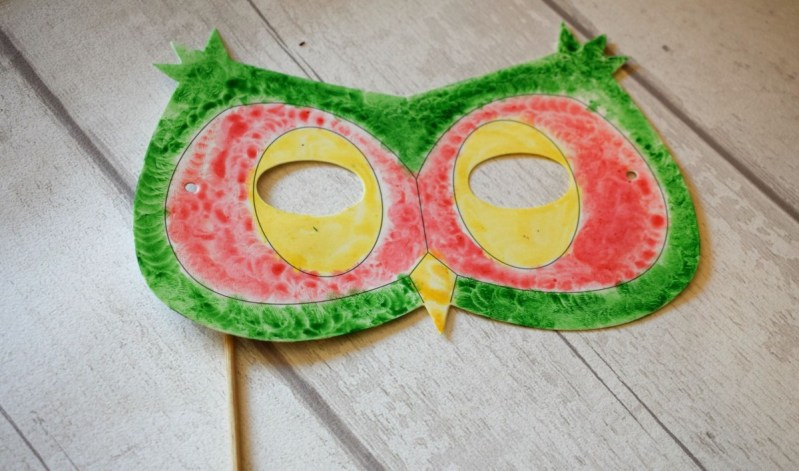Creature Crafts – Owl Mask and Dragon Hand Puppet