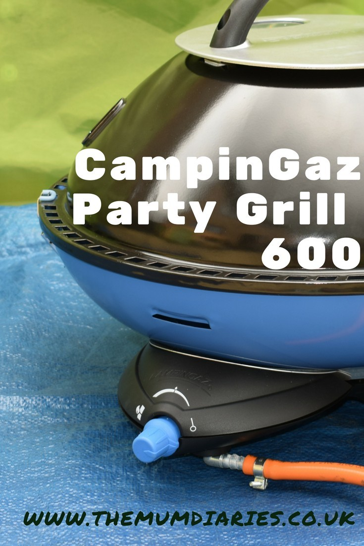 Camp Cooking with the CampinGaz Party Grill 600 is a breeze!