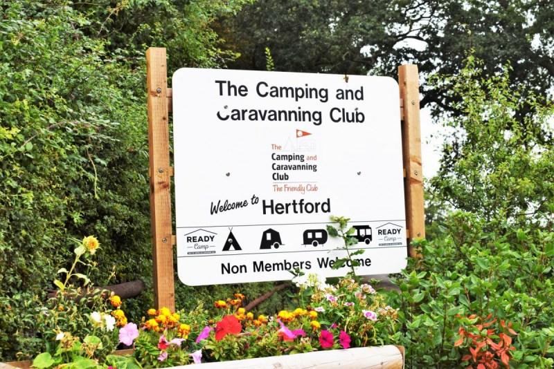 Hertford Camping and Caravan Club Site