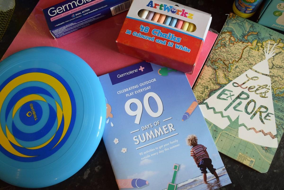90 days of summer with Germolene