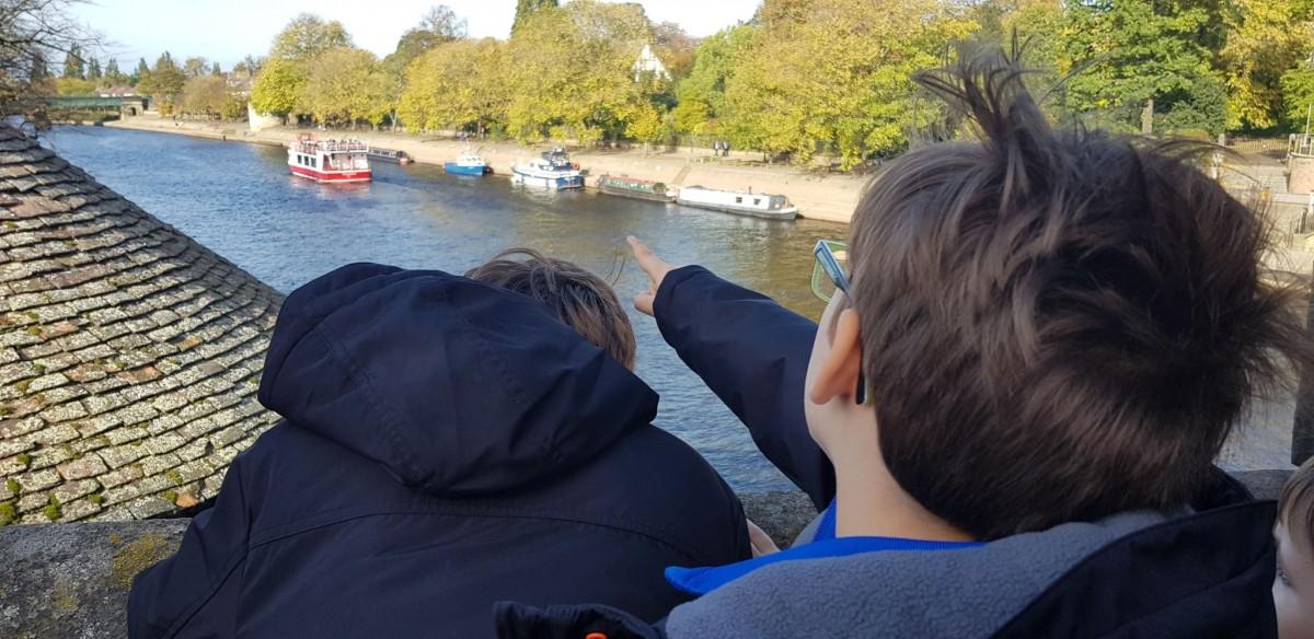 Boat spotting in York
