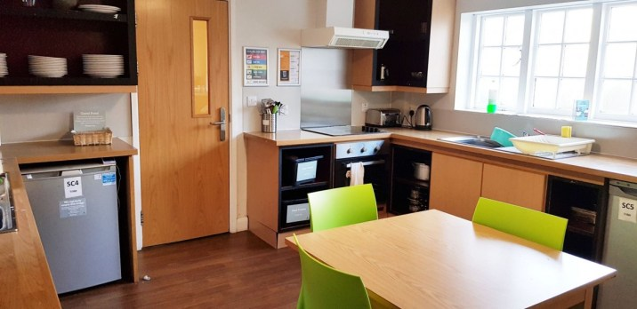 self catering kitchen at YHA York