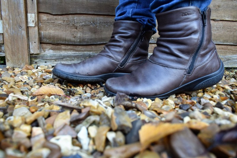 Walking into Autumn/Winter in style with Whisper boots from Hotter Shoes
